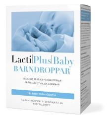 Nyhet,  LactiPlus Baby Barndroppar – för de minsta barnen.