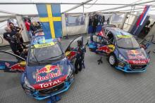 Team Peugeot-Hansen hoppfullt inför Rallycross-VM i Hell
