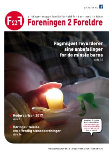 Foreningen 2 Foreldre medlemsblad nr 2-2017