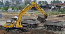 Premiär för hybridgrävaren när Malmö bygger nytt reningsverk