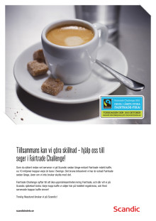 Fairtrade Challenge på Scandic 2012