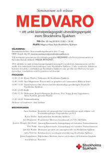 MEDVARO - inbjudan till seminarium 2019-05-23