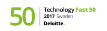 Q-channel AB plats nr 37 i Deloitte Sweden Technology Fast 50