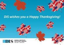 DIS fejrer Thanksgiving i indre København - Amerikanske DIS-studerende lærer danskere om Thanksgiving!