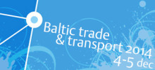 Baltic Trade and Transport 4-5 december, Karlshamn