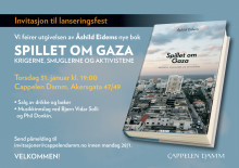 """Velkommen til lansering: """"Spillet om Gaza"""""""