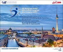 25. Kongress der Europäischen Vereinigung der Krankenhausdirektoren im September 2014 in Berlin