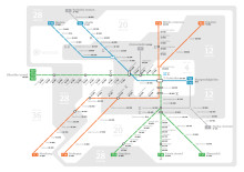 Stora skillnader i bopriser längs tunnelbanan