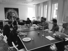 Pingisbordssamtal med Regeringskansliets startupansvarige Marie Wall
