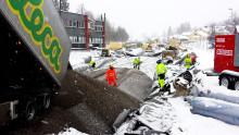 Frostsikrer Kolsåsbanen med Leca