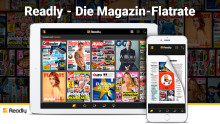 Readly kompakt: Time Magazine Europe  / 5,7 Mio. gelesene Magazine / 44 neue Titel
