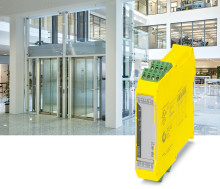 Säkerhetsrelä för hissar enligt EN 81-20