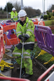 Blyth community signs deal with BT to bring high-speed broadband to residents
