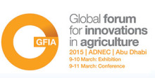 Plantagon's CEO Hans Hassle is keynote speaker at GFIA 2015, Global Forum for Innovations in Agriculture in Abu Dhabi