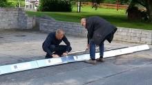 Översvämningsbarriär för villaägare från Inero