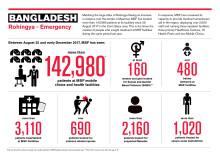 Minst 6 700 rohingyer har dödats i Myanmar visar kartläggning