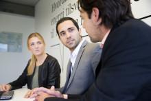 Hvem vinner internship i Siemens?