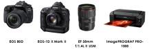 Beste kvalitet fra opptak til utskrift – Canon mottar fire EISA-utmerkelser