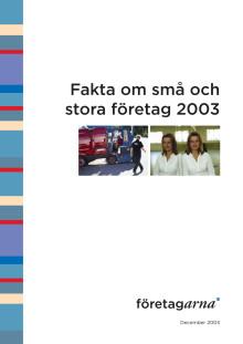 Fakta om små och stora företag 2003