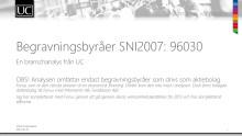 Sammanställning Begravningsbyråer SNI2007:96030