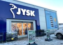 Fornyelsen av JYSK har endelig nådd Harstad!