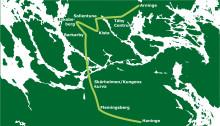 C: Inför ringlinje med expressbussar i Stockholmsregionen