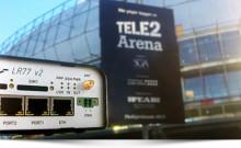 4G router räddar premiärvisning