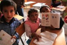 Ny skole for flyktningbarn!