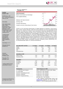 Original-Research: SYZYGY AG (von GBC AG): Kaufen