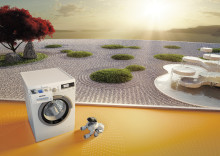 Siemens lanseeraa älykkään pyykinpesukoneen