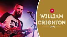 Mer av det goda i Loungen: William Crighton spelar på Kulturens hus i Luleå i höst!