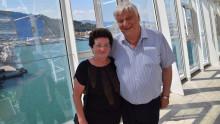 Cäcilie und Willi Müller begleiten Erkundungsfahrt der Harmony of the seas