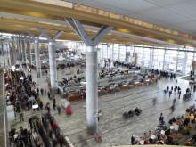 Stor påskeutfart fra Oslo Lufthavn