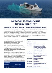 Invitasjon til OSPs lansering