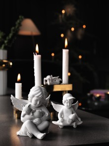 Three angels for Christmas - New designs for the popular figurines