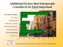 Sverige sjukt när det gäller försäljning - kund inte med bland arbetsplatsers värde ord