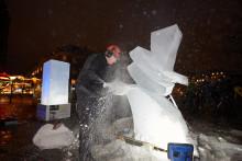 1,5 ton is fra Europas sidste vildmark lyste op i København