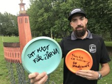 Svenska discgolfeliten gör kast för Järva
