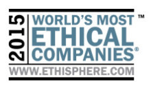 L'Oréal et af Verdens Mest Etiske Firmaer: udvalgt for sjette gang af The Ethisphere Institute