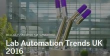 Lab Automation Trends UK 2016