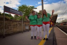 Virgin Trains helps showcase Cumberland & Westmorland Women's Wrestling on the streets of London