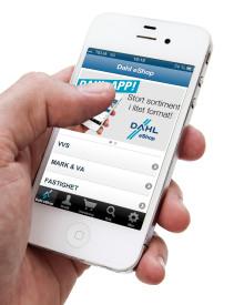 Dahl lanserar app för eShop – stort sortiment i litet format