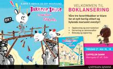 """Invitasjon: Lansering av """"Bukkene Bruse vender tilbake"""""""