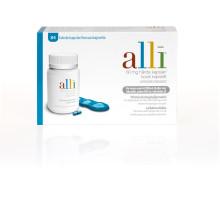 Viktminskningsläkemedlet alli åter tillgängligt på svenska apotek