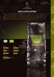 Produktblad Highland Nature