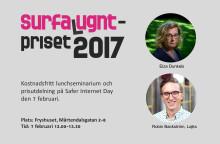 Inbjudan till lunchseminarium och prisutdelning på Safer Internet Day