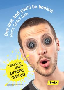 Bestill nå - 4 dager igjen av Hertz Global Sale!