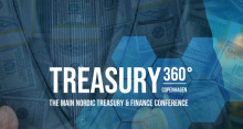 Meet us at the newly launched Treasury 360° in Copenhagen