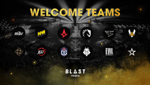 TWELVE OF THE WORLDS BEST ESPORTS TEAMS SIGN UP FOR BLAST PREMIER