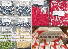 Tullbeslag pekar på stora problem med missbruk av tramadol